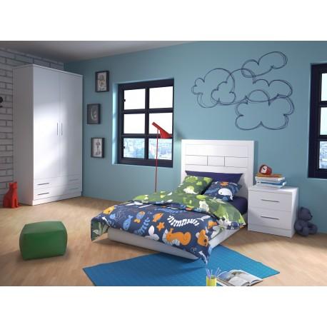Dormitorio Juvenil Niza Blanco