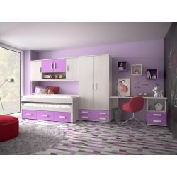 Dormitorio Juvenil Avanti 03
