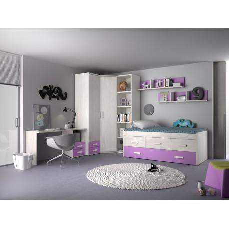 Dormitorio Juvenil Avanti 07