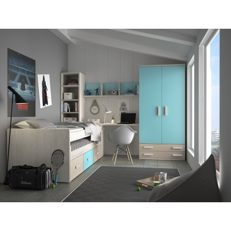 Dormitorio Juvenil Avanti 11