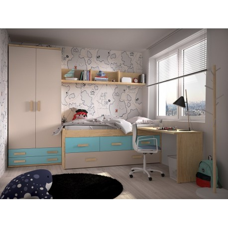 Dormitorio Juvenil Avanti 17