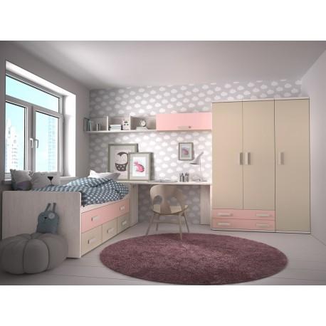 Dormitorio Juvenil Avanti 18