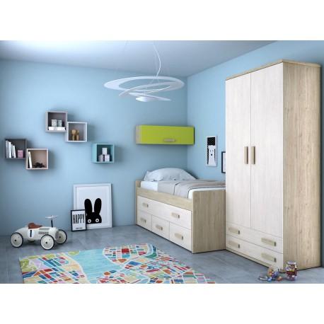 Dormitorio Juvenil Avanti 24