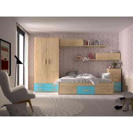 Dormitorio Juvenil Avanti 25