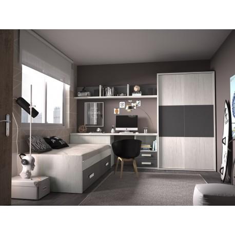 Dormitorio Juvenil Avanti 27