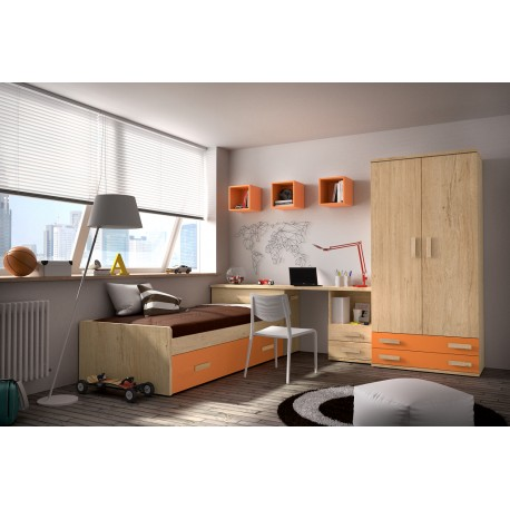 Dormitorio Juvenil Avanti 29