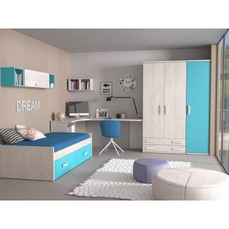 Dormitorio Juvenil Avanti 30