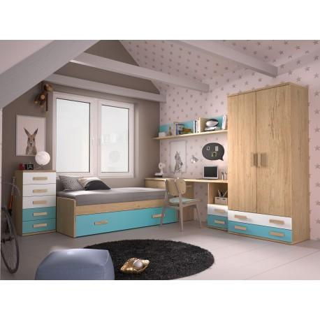 Dormitorio Juvenil Avanti 34