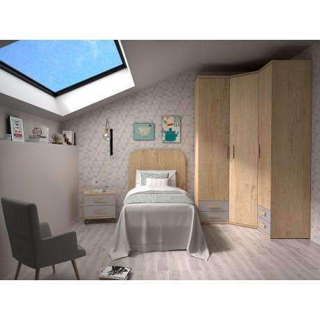 Dormitorio Juvenil Avanti 38