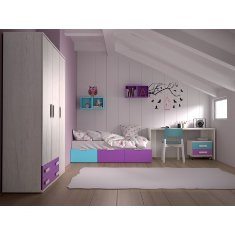 Dormitorio Juvenil Avanti 43
