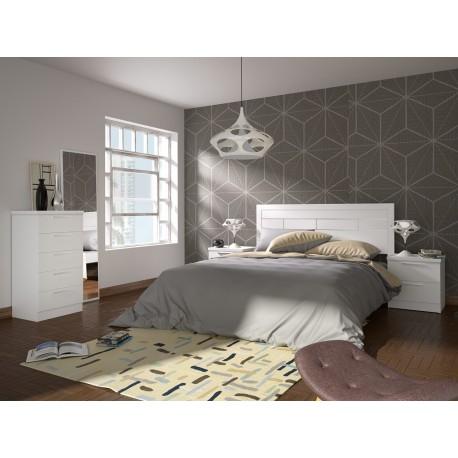 Dormitorio Niza blanco